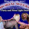 Memorial Weekend and Neon Light Dance