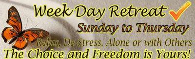 Week Day Retreat, April 28 - May 3