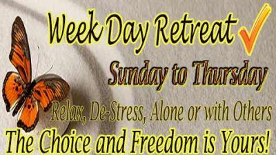 Week Day Retreat, May 12 - 17